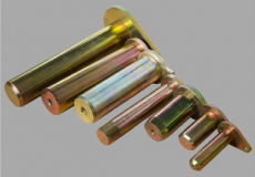 Zince-plated pins